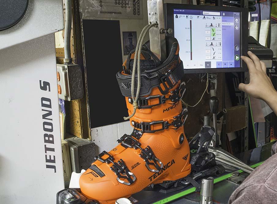 Custom Ski Boot Fittings
